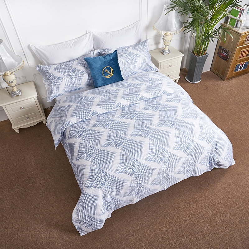 China wholesale 100% cotton printed bed linen quilt cover hotel bed <strong>sheets</strong>