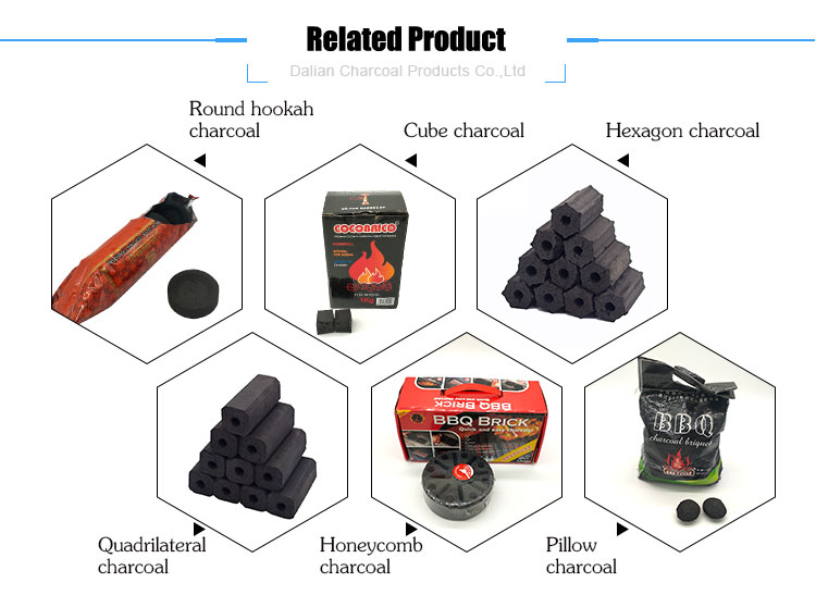 Quick Lighting Al Fakher Coal Cconut Charcoal Round Shisha Charcoal