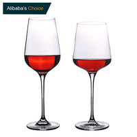 W02 Wholesale Factory Price Custom Goblet Bohemia Wine Glass,Bulk Crystal Wine Glasses