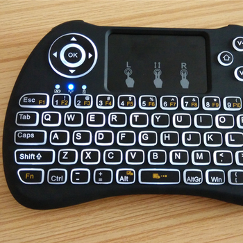Factory price H9 air mouse for Android TV BT shenzhen keyboard China Wireless remote control