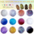 TSZS Hot Selling  Nail 12 Colors Gold Silver Line Set Nail Art Glitter Powder Sequin For Professional Acrylic Nail