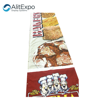 Custom High Quality Wall Hanging Vertical Fabric Banner