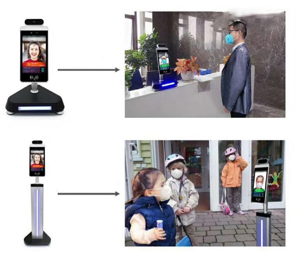 Temperature Monitor Face Recognition