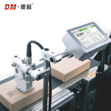 Demin <strong>X10</strong> online automatic inkjet printer to print logo, date and batch number marking small packaging production line code mach