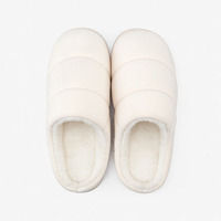 Indoor cotton slippers male couple lovely home yuezi support shoes skidproof warm hair slippers female winter