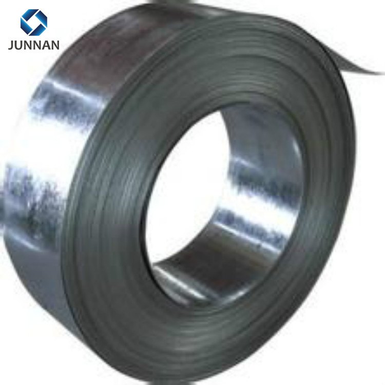 China Supplier hot rolled carbon galvanized DX51D <strong>Q195</strong> mild packing belt strap/steel strip/slit coil