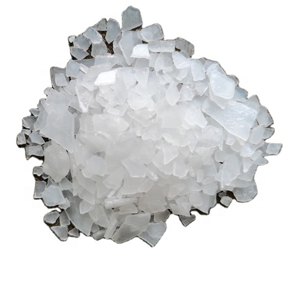White magnesium chloride  hexahydrate flakes
