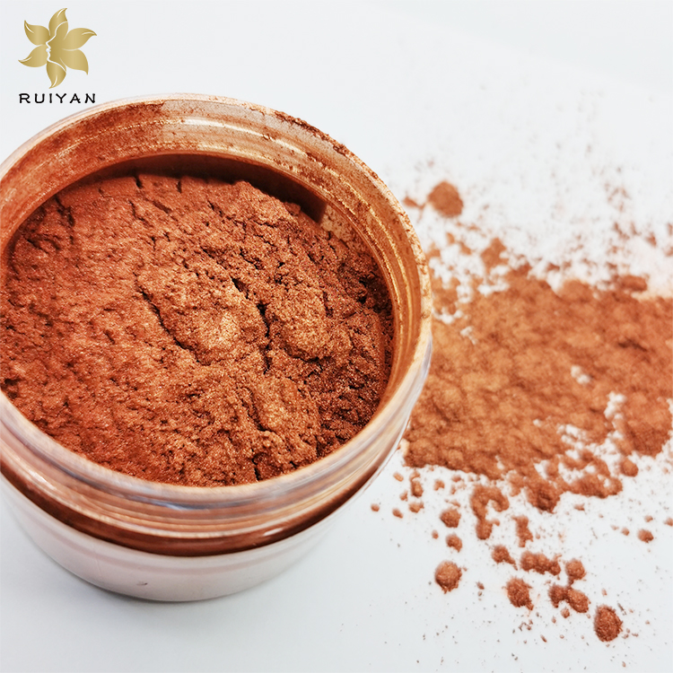 Excellent quality high temperature resistance loose cosmetic mica pigment pearl pigment powder