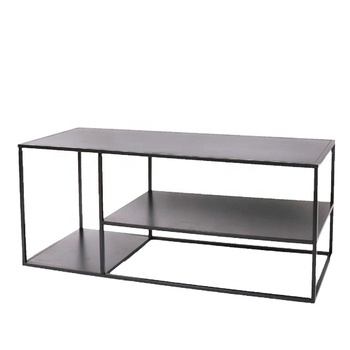 Metal Nordic Style Coffee Table Design Modern Living Room End Table