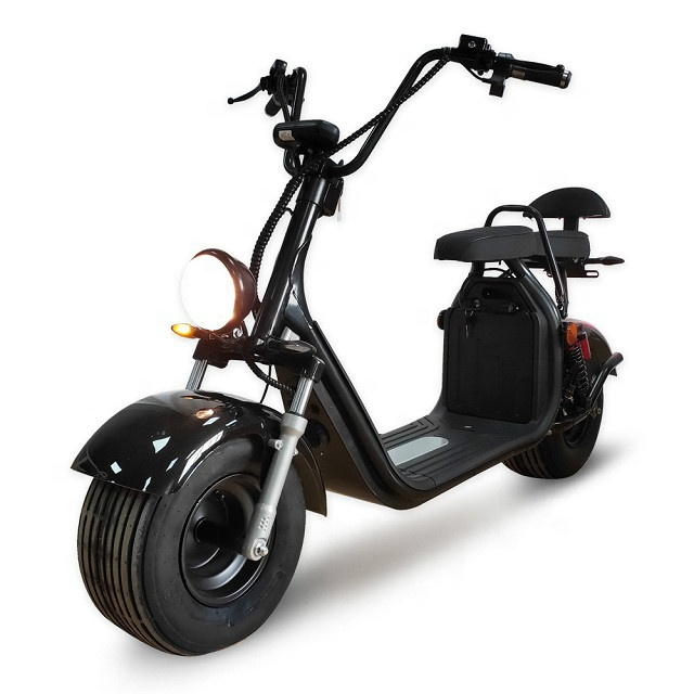 2020 Europe Warehouse EEC Approved Citycoco 2000W Fat Tire <strong>Electric</strong>+Scooters with Removable Battery