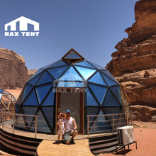 outdoor camping and glamping luxury hotel glass dome house for living in Jordan highly recommmend desert <strong>tent</strong>