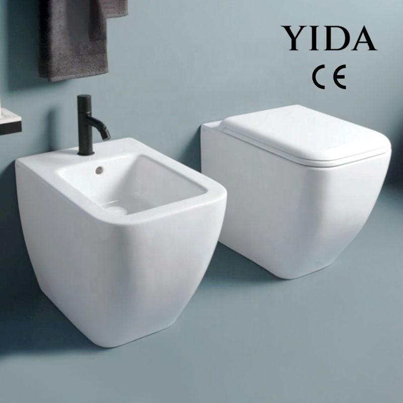 Chinese Bathroom Ghana Toilet Seat Ceramic Public Wc Sets Bidet Toilet Wall Mount From China