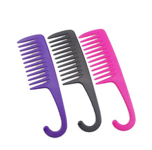 Wholesale hair grooming wide tooth <strong>lice</strong> massage hair salon folding beard moustache <strong>plastic</strong> <strong>comb</strong>