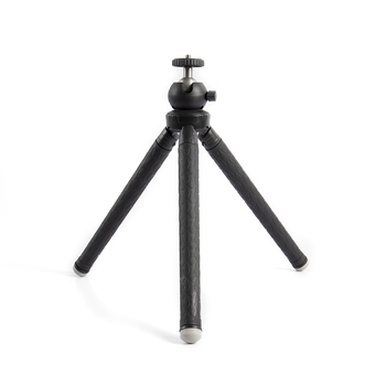 Sunrise Lightweight Portable Extendable Mobile Phone Tripod with 360 Degree Rotation Ball Head