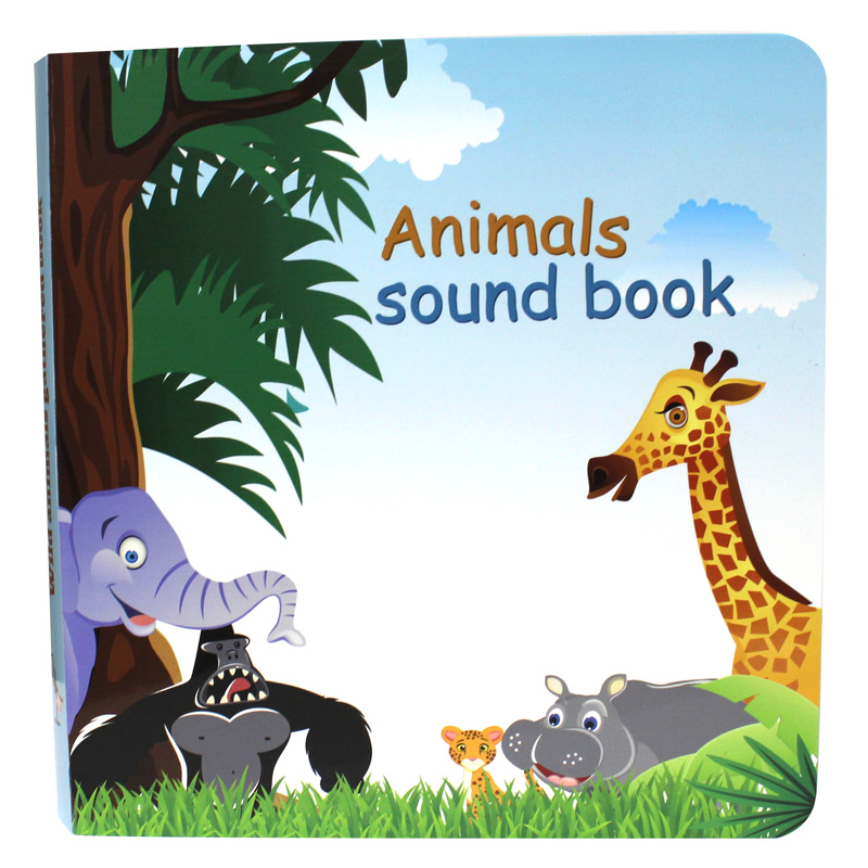 My little Sound animal sound <strong>book</strong> for kids new <strong>books</strong> toys with customized sound