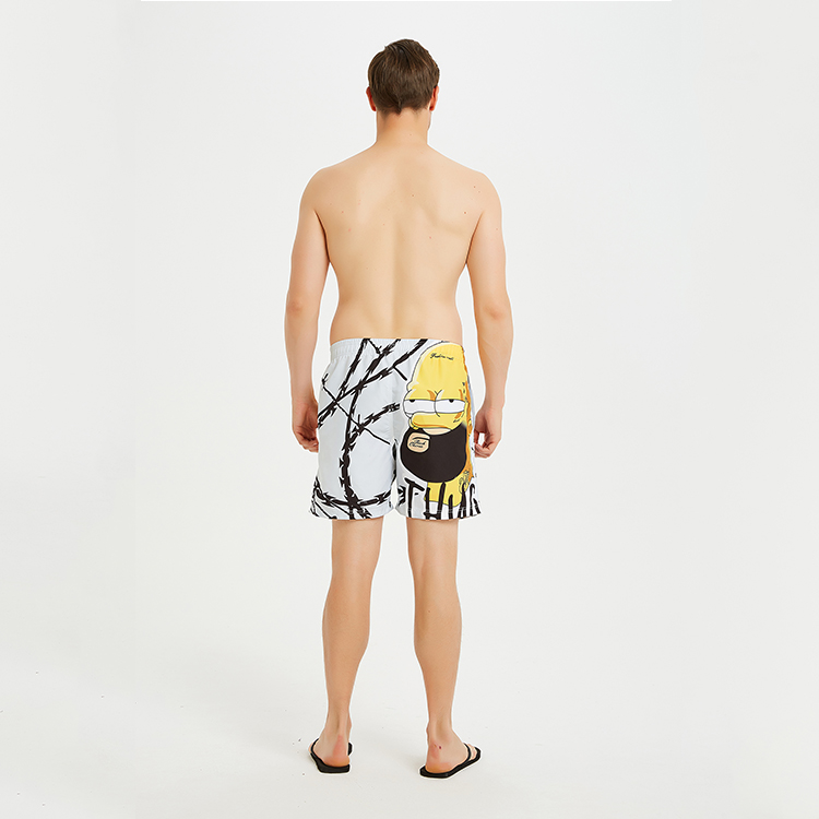 High quality custom design sublimation printed surf board shorts