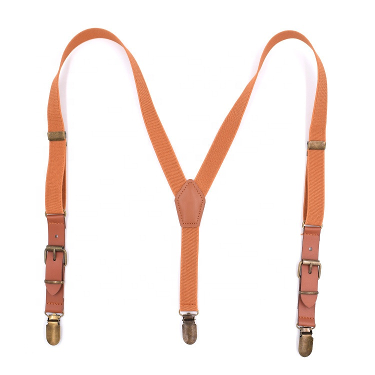 Leather children's <strong>3</strong> clip fashion <strong>Y</strong>-shaped suspender hanging pants <strong>belt</strong> for kids