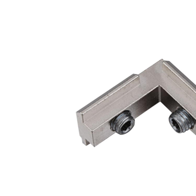 galvanized metal L shape inner bracket swivel inner bracket for aluminum profile slot 8 slot <strong>10</strong>(325.0102A)