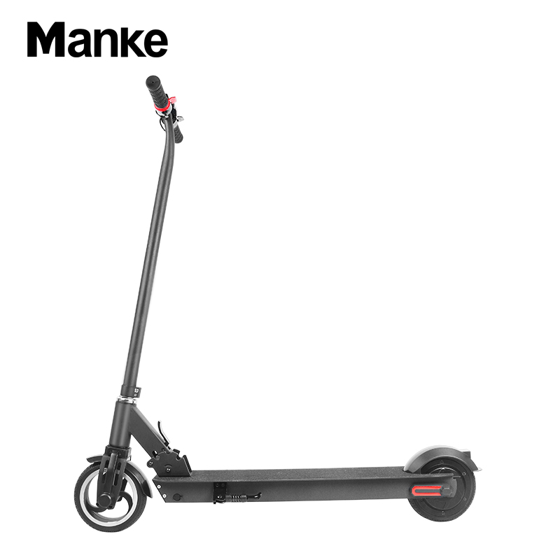 MK 013 2020 casual fashion two-wheeled 6.5-inch 300w foldable electric scooter has a maximum speed of 25km/<strong>h</strong>
