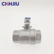 China Manufacturing 3 Inch Low Price Good Quality 2PC <strong>Stainless</strong> Steel Vacuum Ball Valve