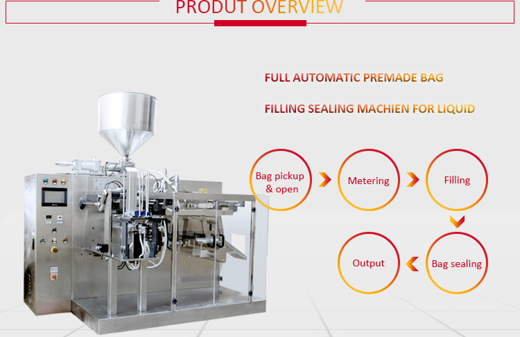 Automatic liquid soaps and detergent in to spout pouches packaging machine price