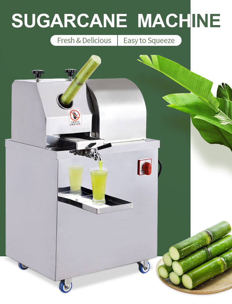 Stainless Steel Juicer Electric Sugarcane Juicer Extractor Machine Small Sugarcane Machine For Home