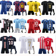 Wholesale custom adult team soccer jersey quickly dry football jerseys <strong>sports</strong> <strong>wear</strong> with socks