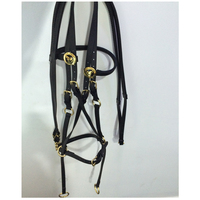Sidepull Bitless Bridle & Reins Horse Equestrian Equipment,Horse Racing Bridle For Equine Supplies