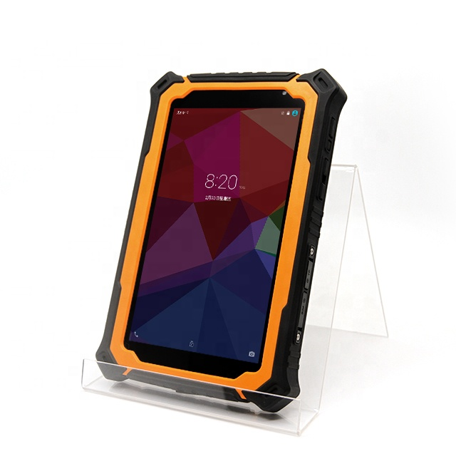 T71V3 rugged tablet PC industrial android <strong>1000</strong> nit with gps 4G LTE optional NFC car mount UHF RFID reader IP67 waterproof oem