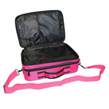 Professional Makeup <strong>Brush</strong> Case 3 Layers Cosmetic Beauty Artist Organizer Makeup Suitcase