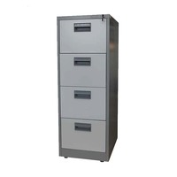 Hot sale legal size funky metal 4 drawer vertical plastic handle locking lateral file cabinet for depot office