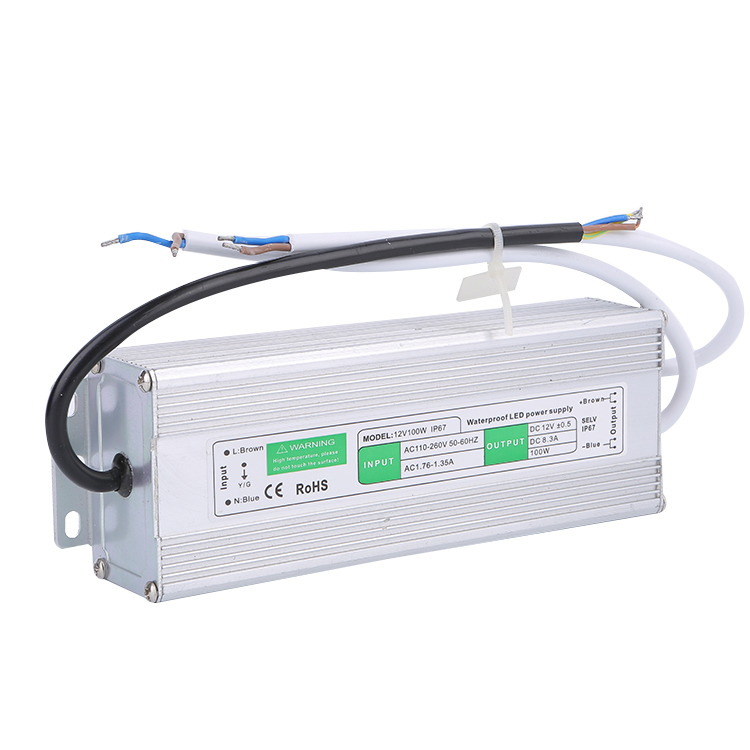 Single output 100W waterproof power supply dc12V 8.5a IP67 LED <strong>driver</strong>
