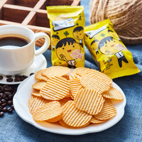 Weilong potato chips puffed snacks original healthy non-fried snacks snack food potato chips factory direct sales original