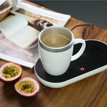 Home office desktop portable electric cup coffee <strong>heater</strong> with mug