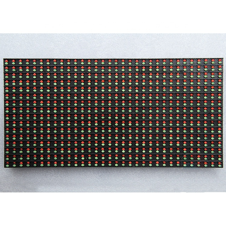Evershine <strong>p10</strong> <strong>1R1G</strong> dip outdoor dual color <strong>led</strong> <strong>module</strong> for advertising <strong>led</strong> display screen price