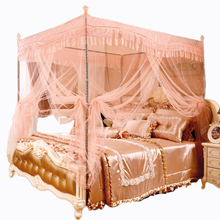 Fashion Style Web Beautiful Durable Thick Stainless Steel Square Anti Mosquito Bed Net <strong>Tent</strong>