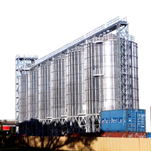 Great Flat Bottom Grain Storage Silo for Wheat Corn <strong>Rice</strong> Paddy