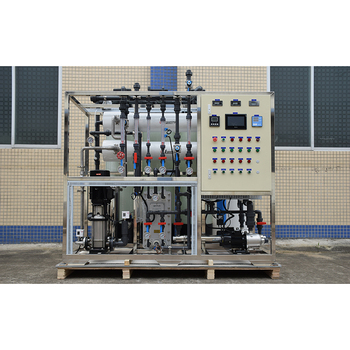2000LPH chemical manufacturing and food & beverage industry EDI ultrapure water system
