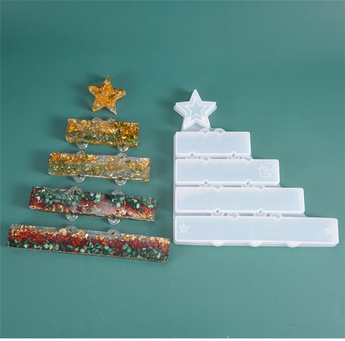 <strong>W115</strong> DIY resin multi style accessories pendant mold for Christmas theme silicone mold