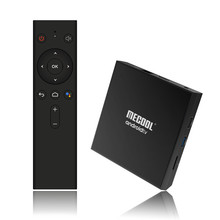 KM9 Pro Google Certified Android Box with BT Voice <strong>Remote</strong> Controller Amlogic S905X2 4GB RAM ATV Box