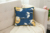 Factory Wholesale Soft Plush Moon Night Pillow Cover Toss Pillows for Couch Living Room Decoration Blue Gold