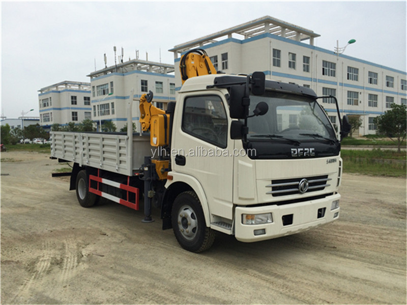 left hand drive 3 ton truck with crane 3 ton