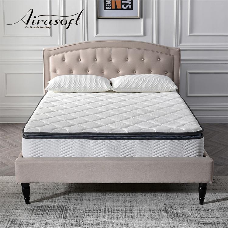 High Quality Comfortable Sleeping Durable Knitted Fabric Memory Foam Spring Mattress - Jozy Mattress | Jozy.net