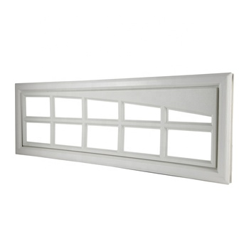 Wholesale Automatic Sectional Garage Door Windows with Plastic Material
