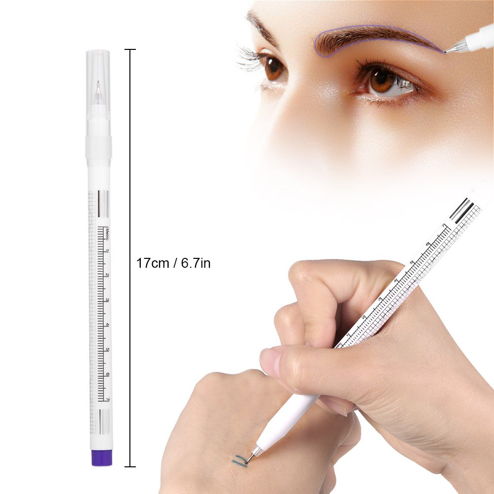 Magic Eraser Pen, Eyebrow Tattoo <strong>Remover</strong> of Marker Ink Permanent Microblading Makeup <strong>Removal</strong> with 3 Replaced Heads
