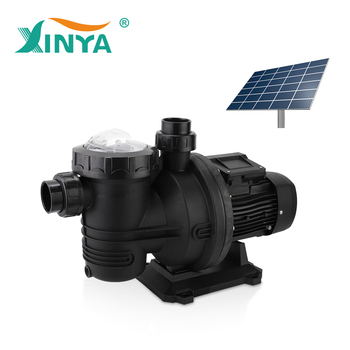 Brushless solar powered dc swimming pool pump system