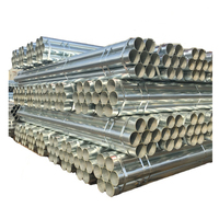 China supplier hot dip galvanized steel seamless pipe and tube