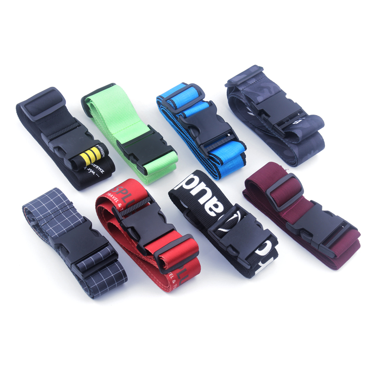 Travel Accessories Adjustable Luggage Strap Suitcase Security Belt