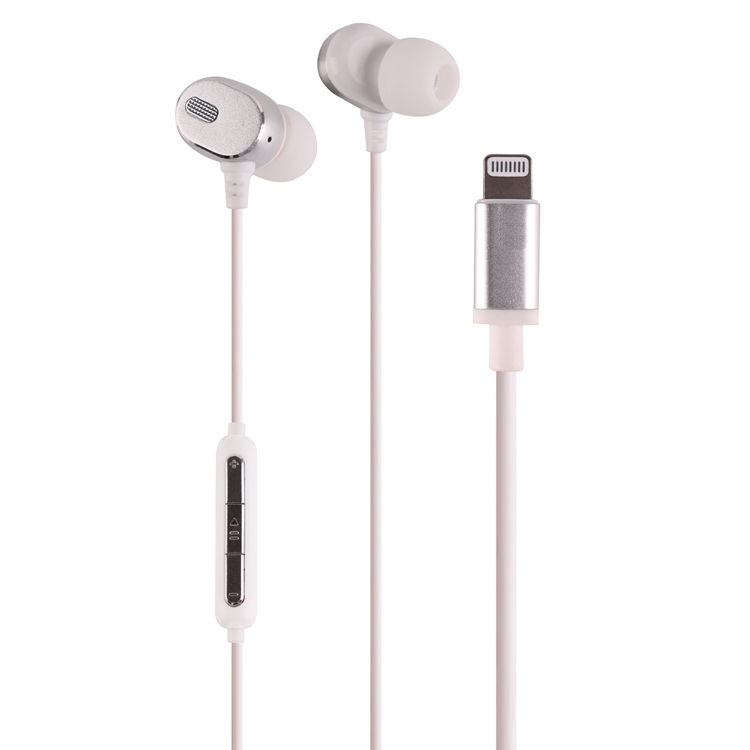 earphones with mfi lightning <strong>C100</strong> connector headphones for iphone