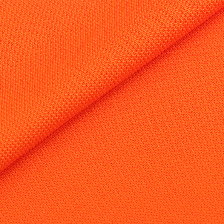 Sportswear wrap knitted 100% polyester pique fabric best <strong>material</strong> for polo shirts